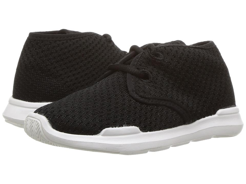 AKID Brand - Remington (Toddler/Little Kid/Big Kid) (Black/White) Kids Shoes