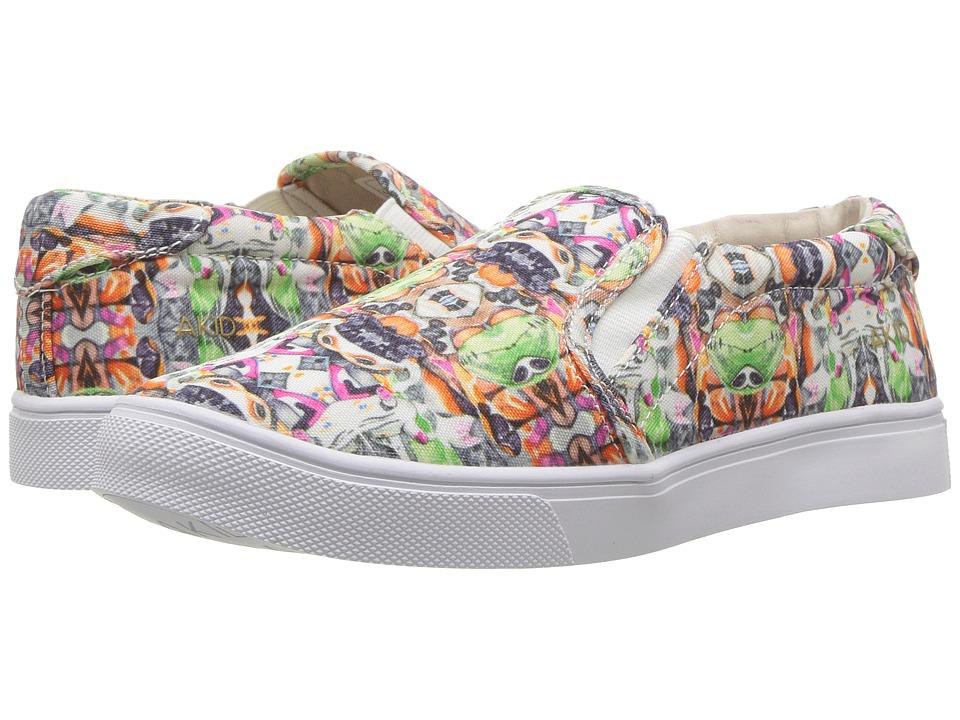 AKID Brand Liv (Toddler/Little Kid/Big Kid) (Kaleidoscope Print Alist) Girls Shoes