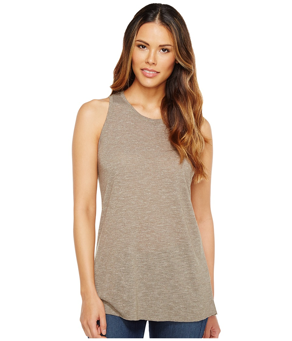 Michael Stars Brooklyn Jersey Crew Neck Tank Top (Olive Moss) Women