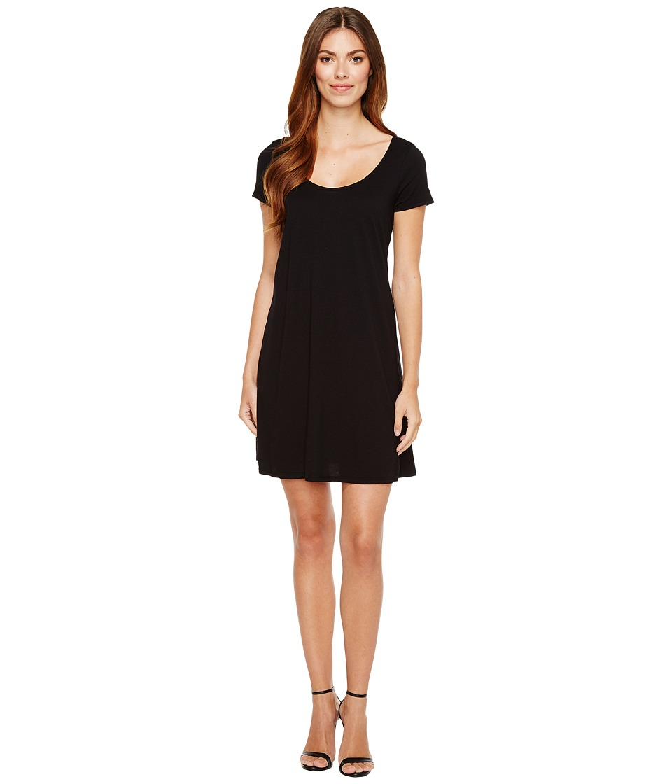 Michael Stars - Scoop Neck Mini Dress (Black) Women's Dress