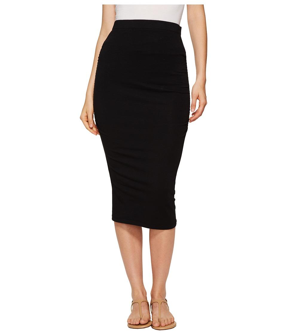 Michael Stars - Pencil Skirt w/ Shirring (Oxide) Women's Skirt