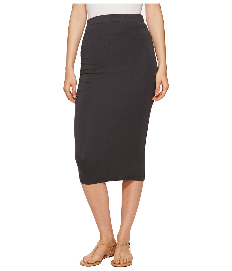 Michael Stars - Pencil Skirt w/ Shirring (Oxide) Women's Skirt