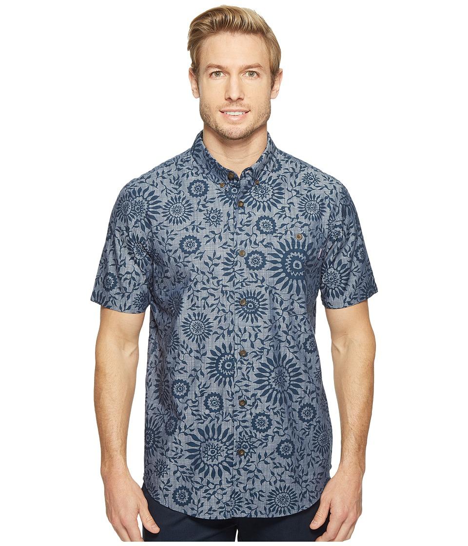 Jack O'Neill - Mas Aloha Wovens (Navy) Men's Clothing
