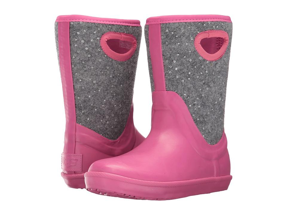 UGG Kids Kex Sparkle (Little Kid/Big Kid) (Pink Azalea) Girls Shoes