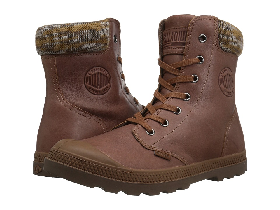 Palladium Pampa Hi Knt LP (Sunrise/Carafe) Women