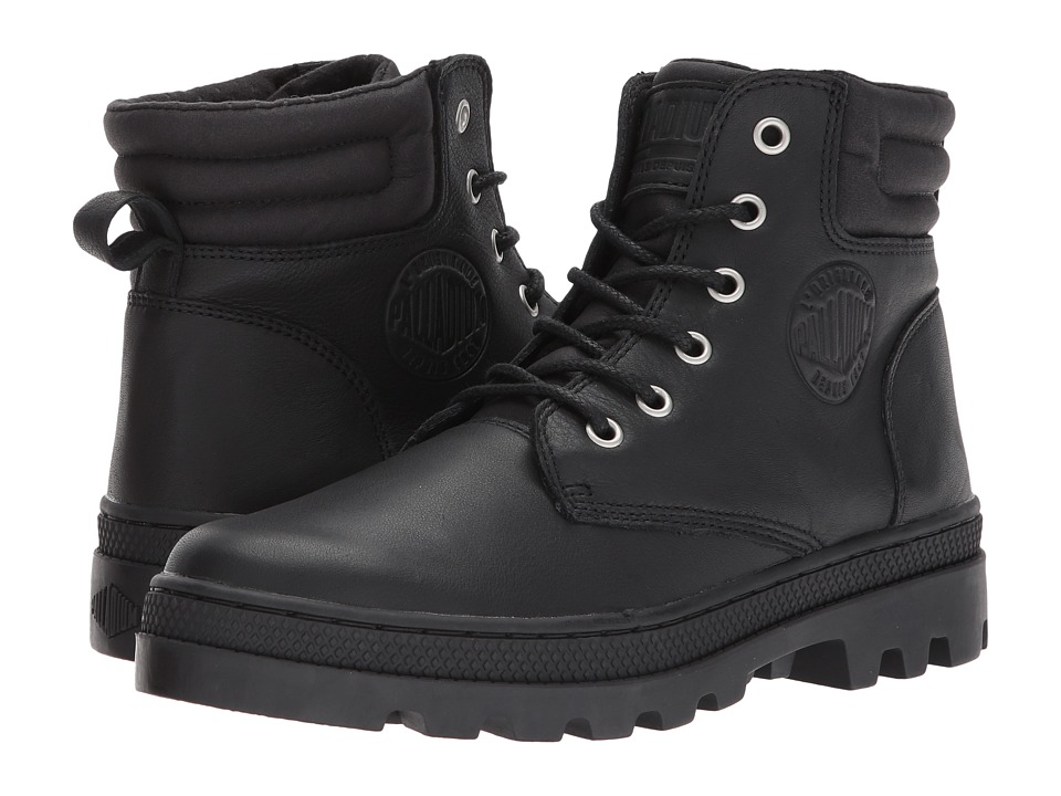 Palladium Pallabosse Hi Cuff L (Black/Black) Women
