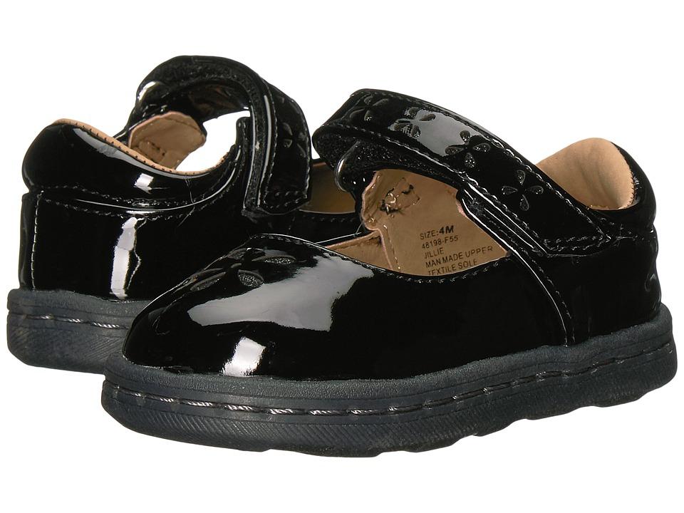 Hanna Andersson Jillie (Infant/Toddler) (Black Patent) Girls Shoes