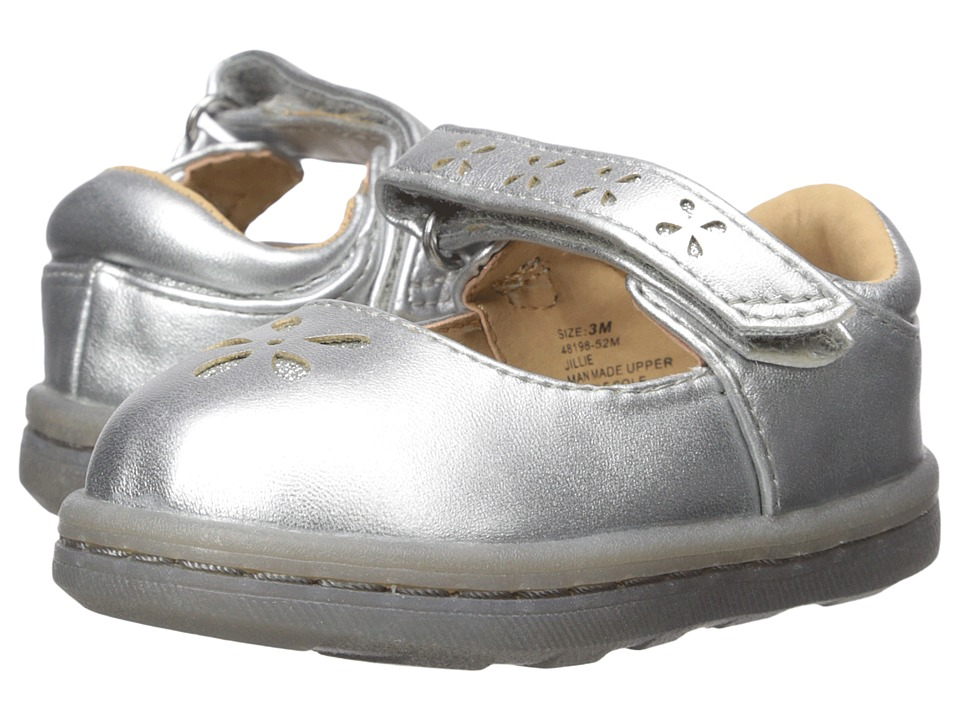Hanna Andersson Jillie (Infant/Toddler) (Silver Metallic) Girls Shoes