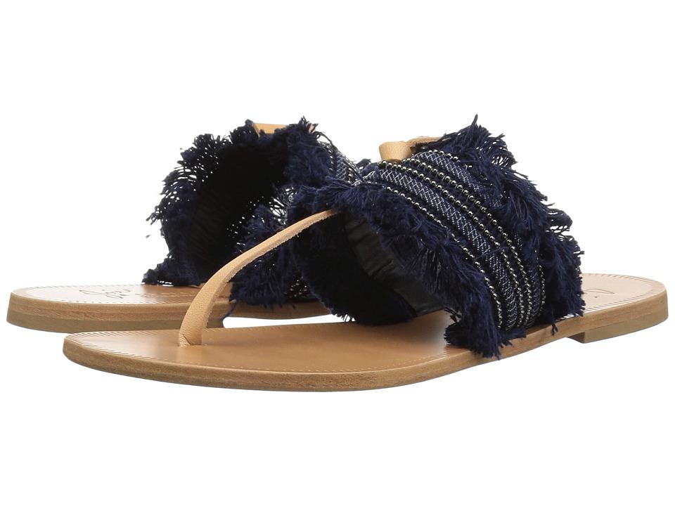 Joie - Nairi (Denim Woven Trim) Women's Sandals