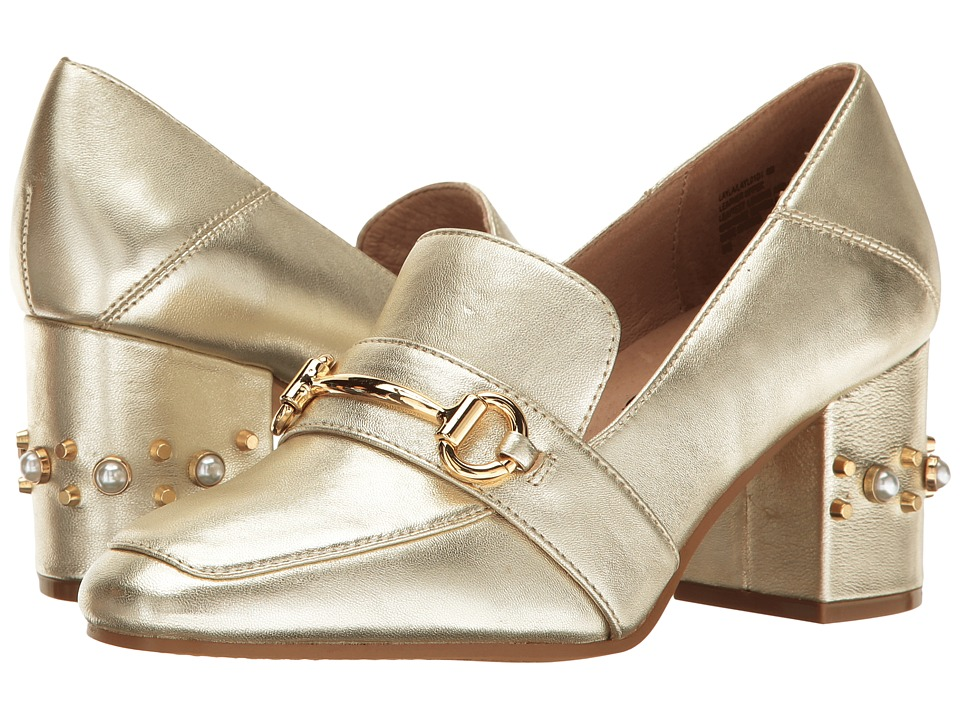 Steven - Layla (Gold Leather) Women's Shoes