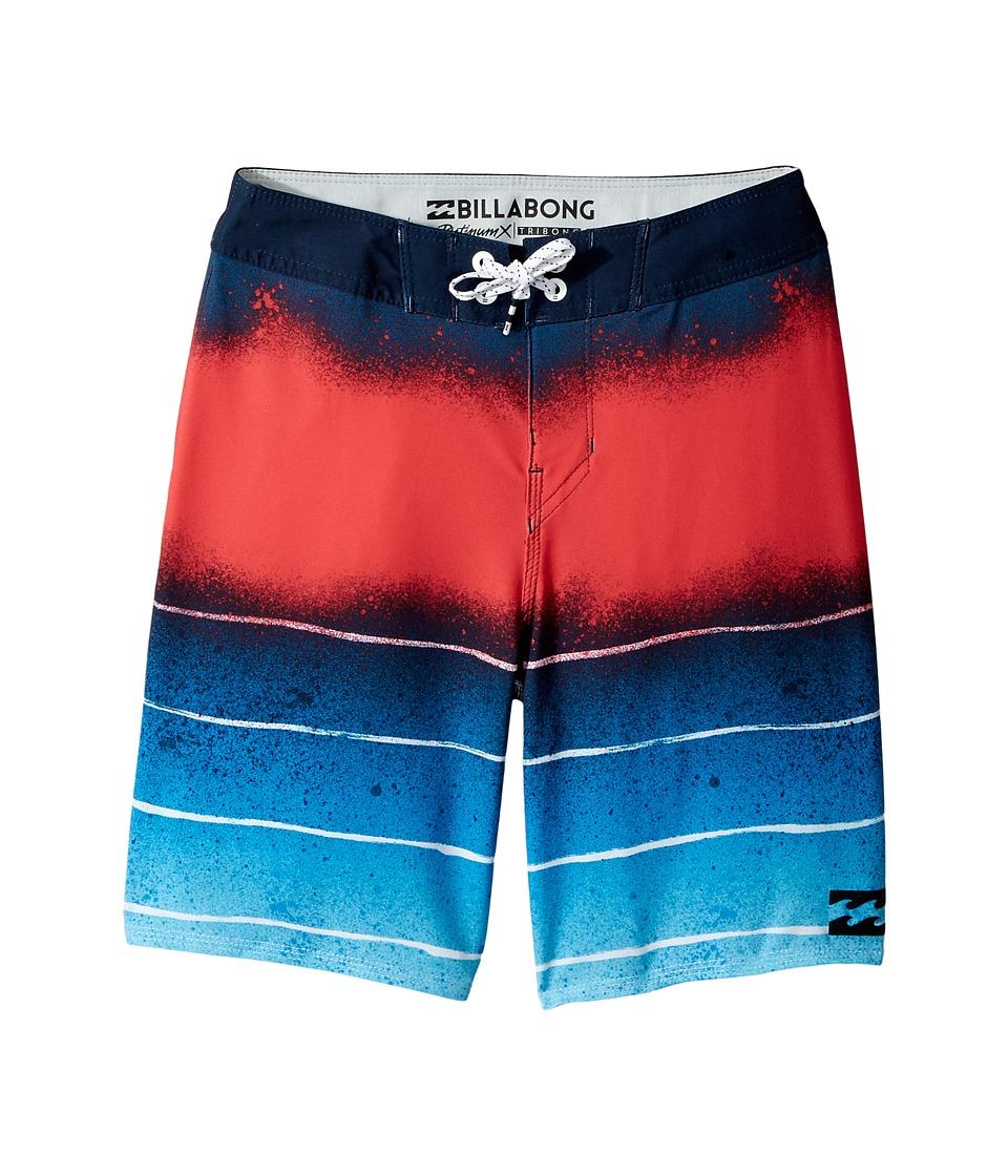 Billabong Kids Tribong Lo-Fi Boardshorts (Big Kids) (Blue) Boy