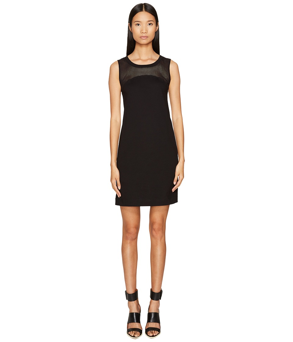 LOVE Moschino Mesh Tank Dress (Black) Women