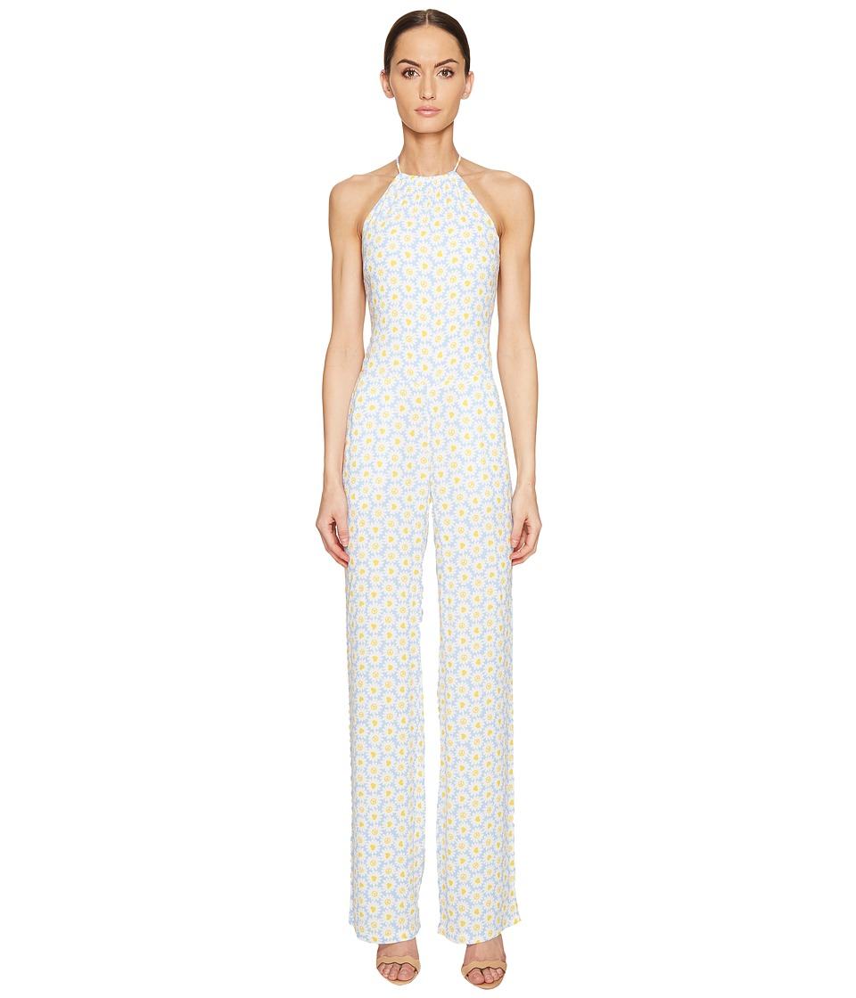 LOVE Moschino - Daisy Jumpsuit (Light Blue) Women's Jumpsuit & Rompers One Piece