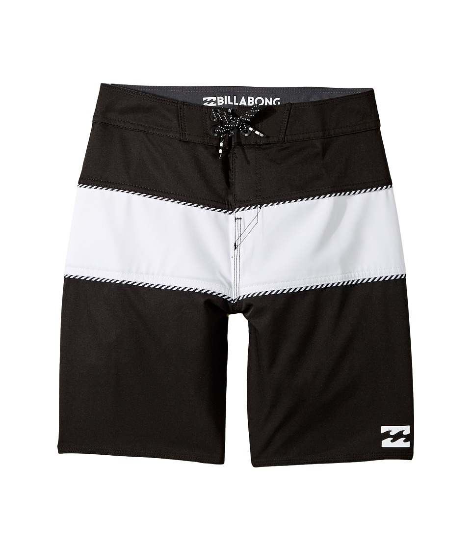 Billabong Kids Tribong X Boardshorts (Big Kids) (Black) Boy