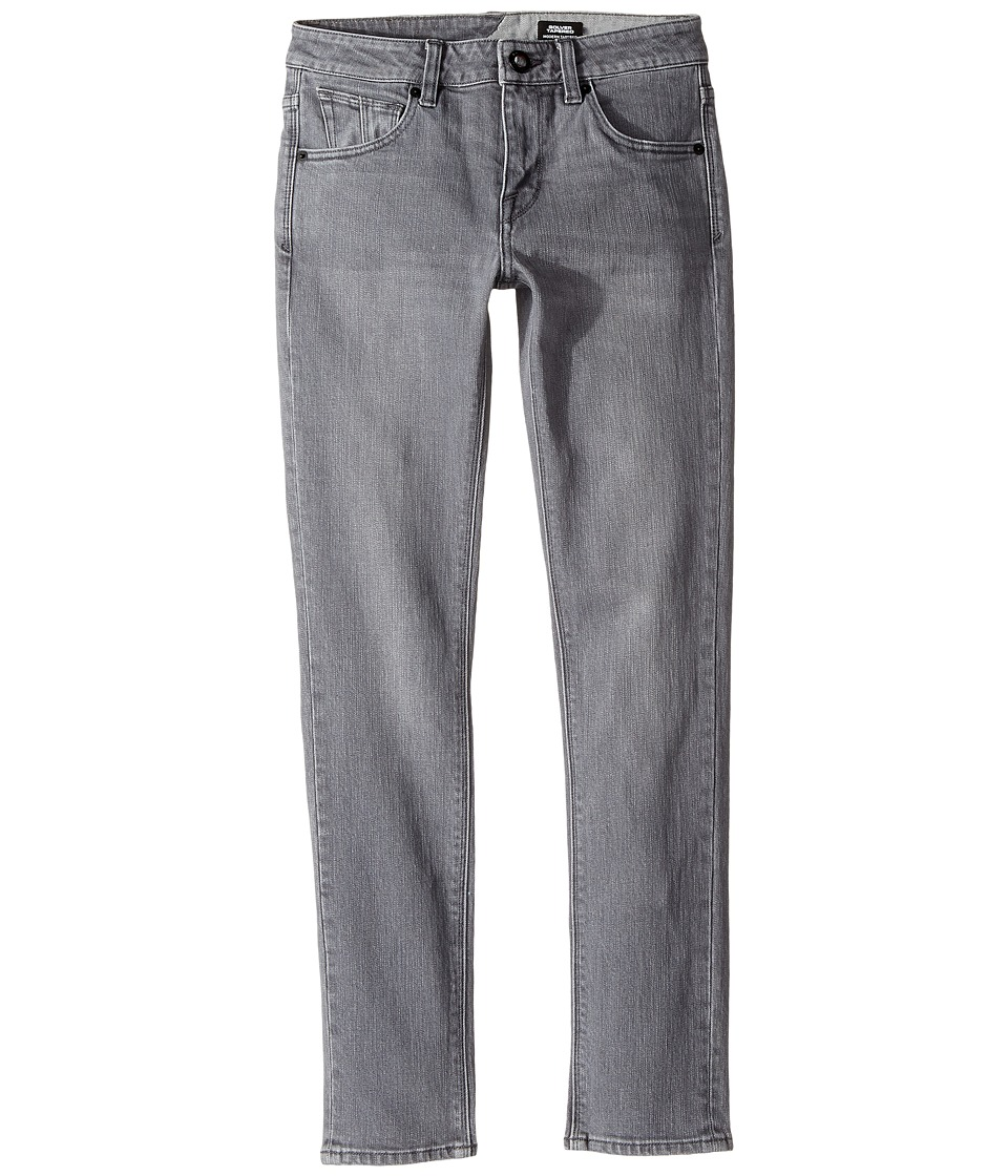 Volcom Kids - Solver Tapered (Big Kids) (Power Grey) Boy's Jeans