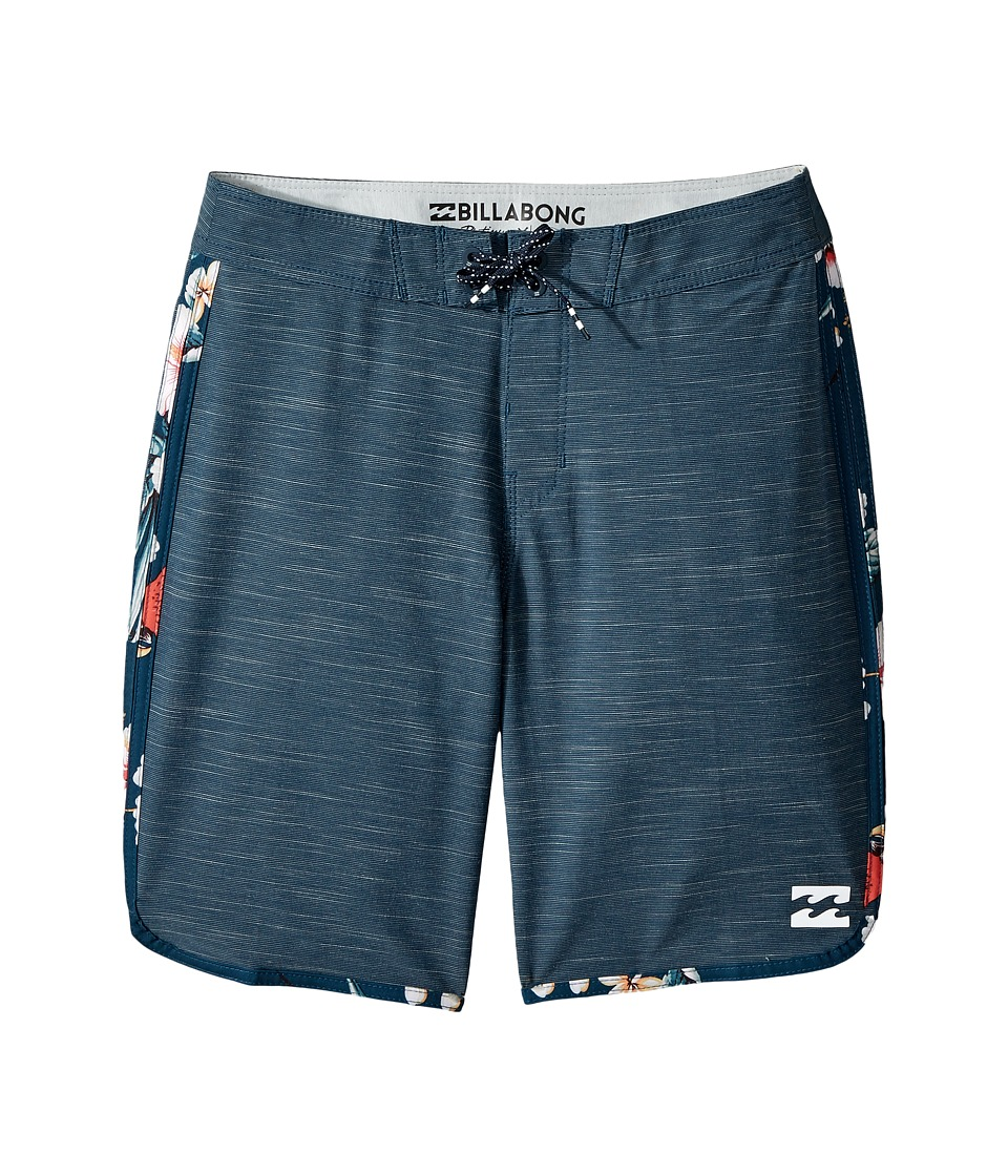 Billabong Kids 73 X Boardshorts (Big Kids) (Navy) Boy