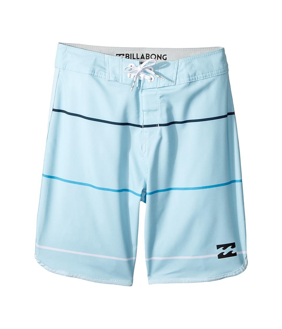 Billabong Kids 73 X Stripe Boardshorts (Big Kids) (Coastal) Boy