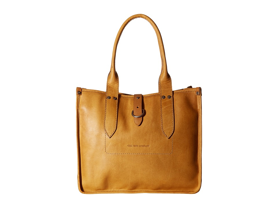 Frye - Amy Shopper (Camel) Tote Handbags