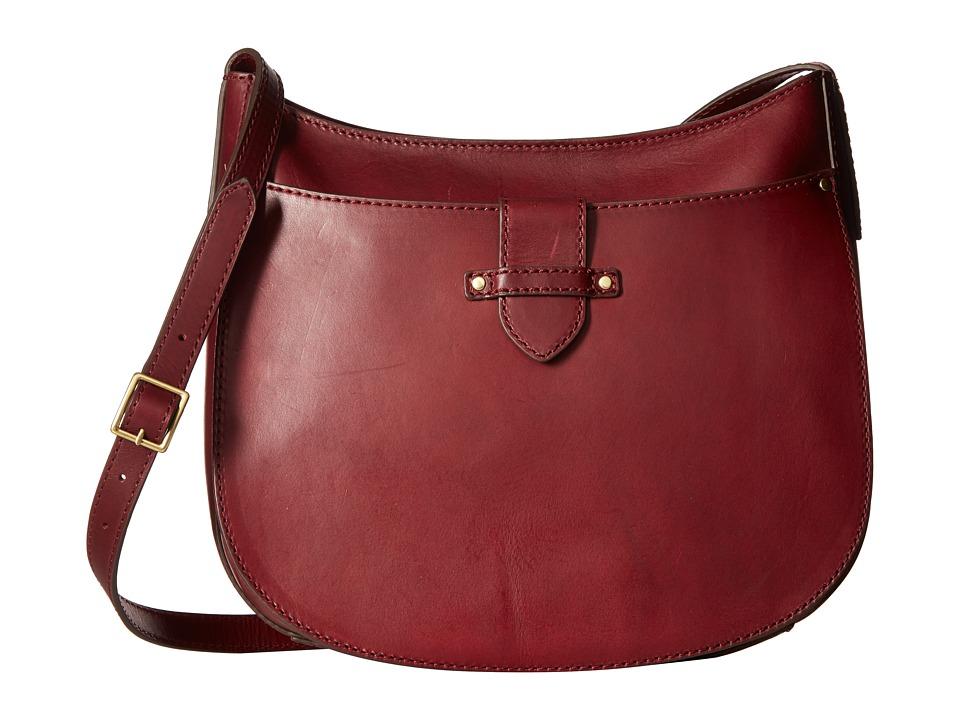 Frye - Casey Large Crossbody (Wine) Handbags