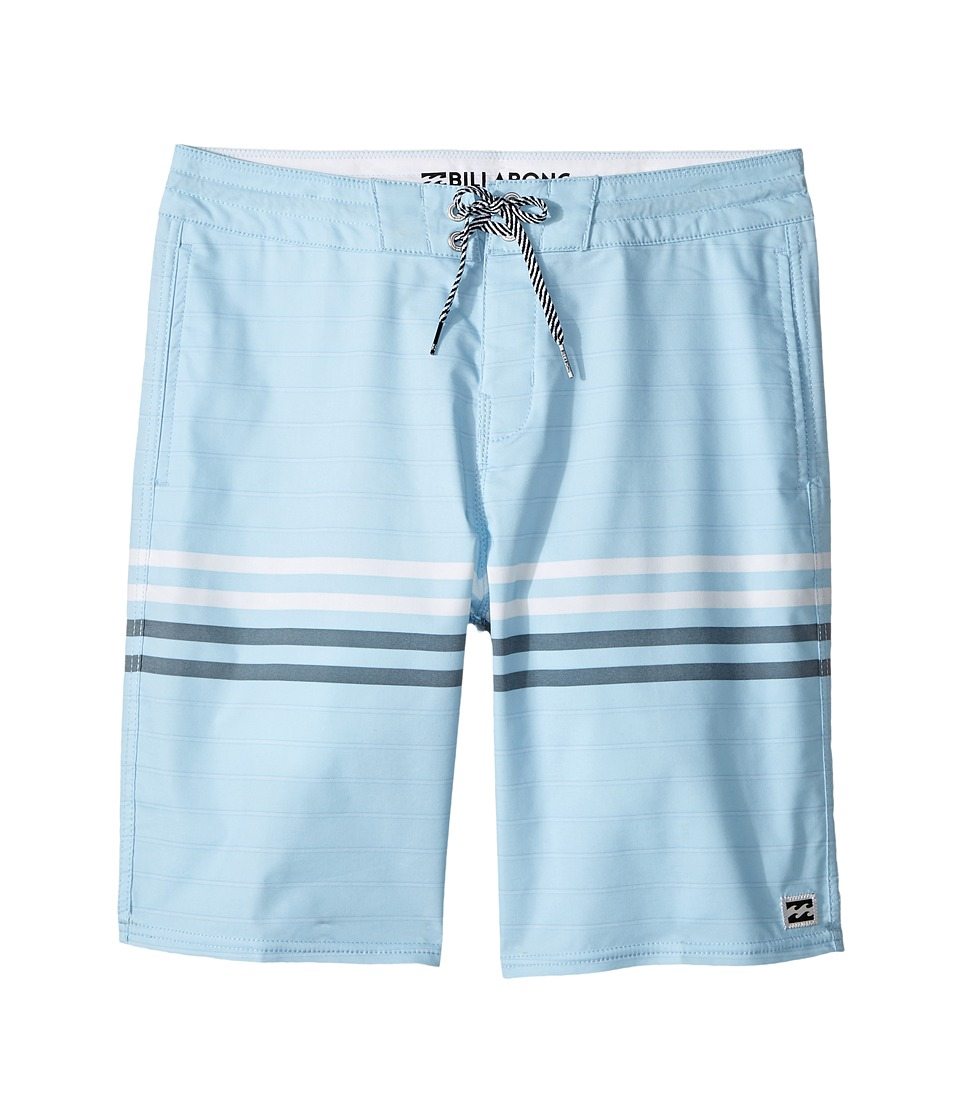 Billabong Kids Spinner LT Boardshorts (Big Kids) (Coastal) Boy