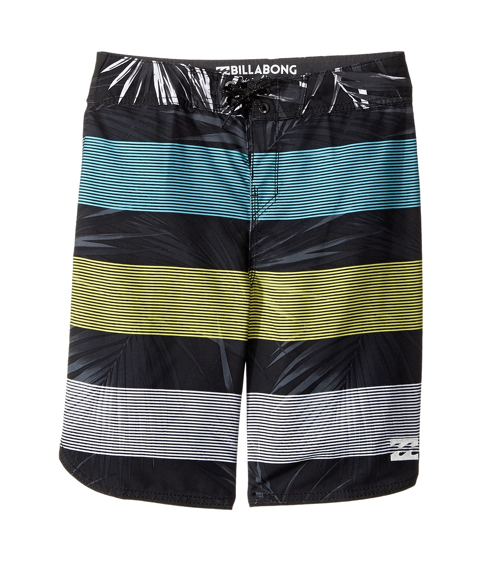 Billabong Kids 73 OG Stripe Boardshorts (Big Kids) (Black 2) Boy