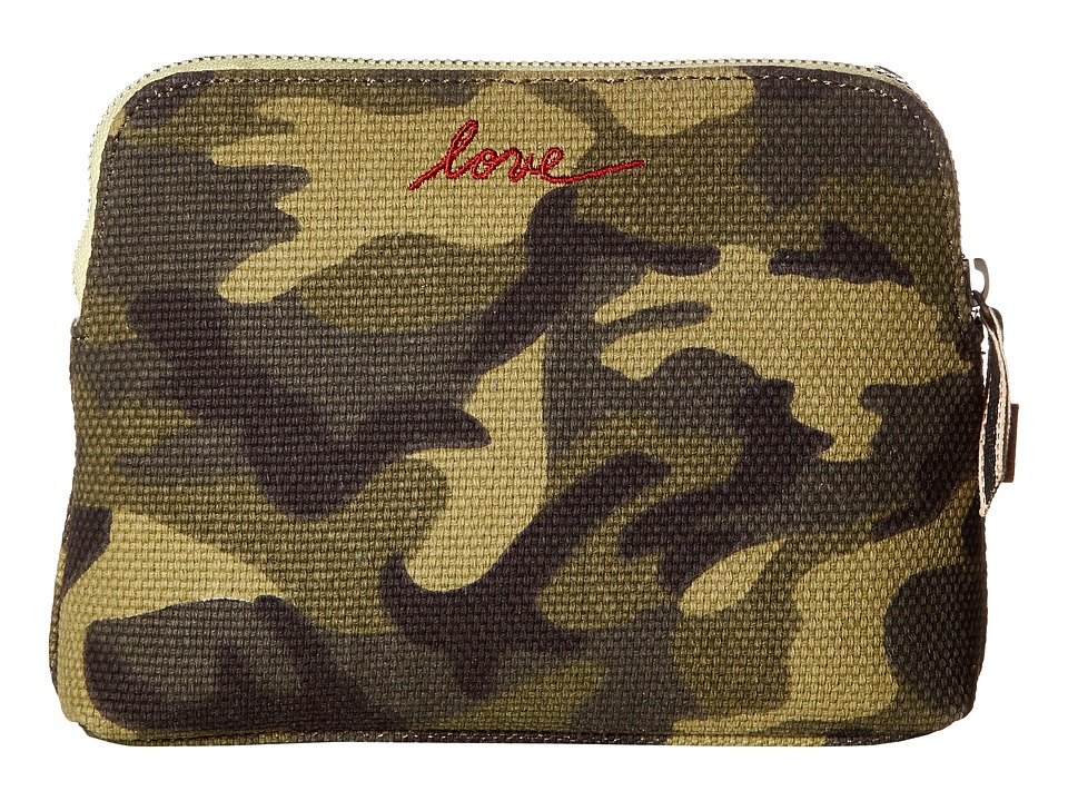 ED Ellen DeGeneres - Darien Medium Pouch (Army Green) Handbags
