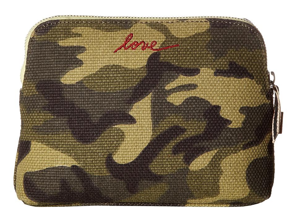 ED Ellen DeGeneres - Darien Medium Pouch (Army Green) Handbags