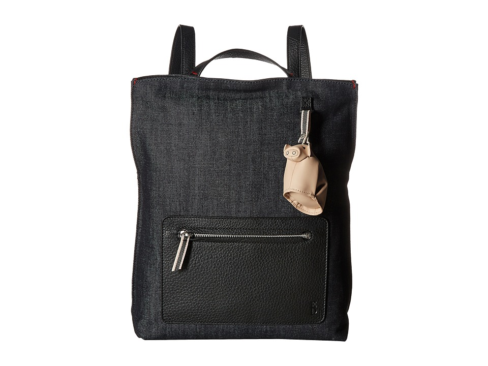 ED Ellen DeGeneres - Fremont Backpack (Dark Denim/Black) Backpack Bags