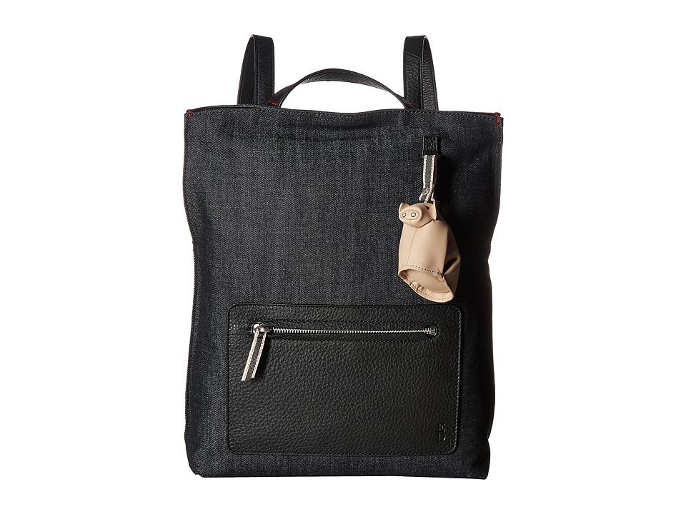 ED Ellen DeGeneres - Fremont Backpack (Dark Denim/Black) Backpack Bags