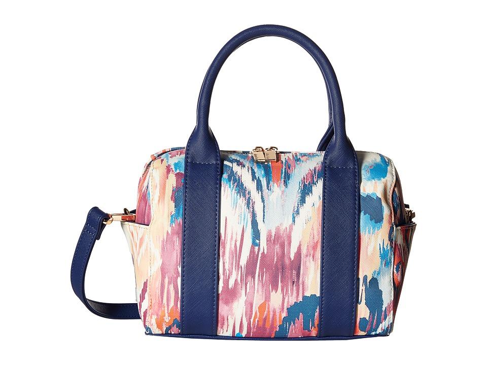 Deux Lux - Ikat Mini Duffle (Navy) Bags