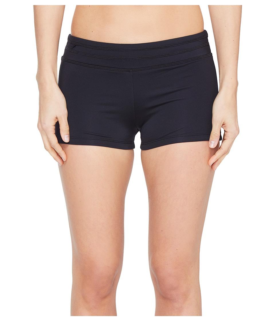 Jantzen - Jantzen Sport Solids Boyleg Bottom (Black) Women's Swimwear
