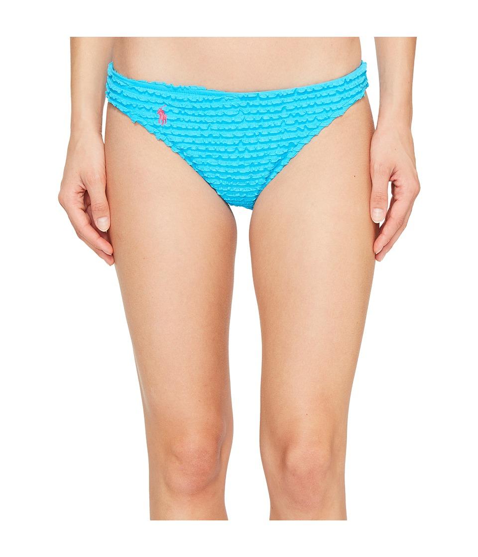 Polo Ralph Lauren Baby Ruffle Katy Hipster Bottom (Turquoise) Women