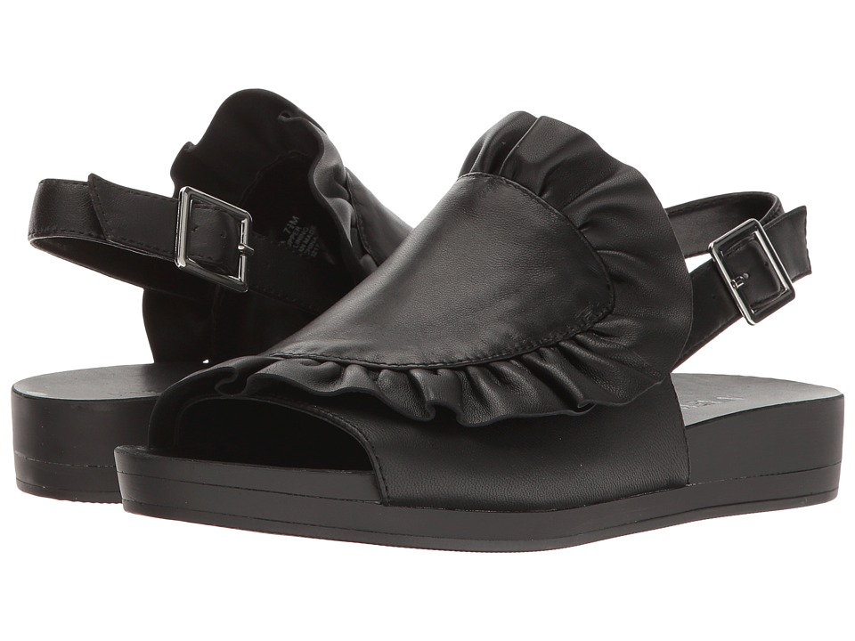 Nine West Amara (Black Leather) Women