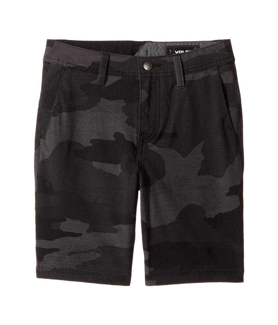 Volcom Kids - Frickin SNT Mix Hybrid Shorts (Toddler/Little Kids) (Black) Boy's Shorts