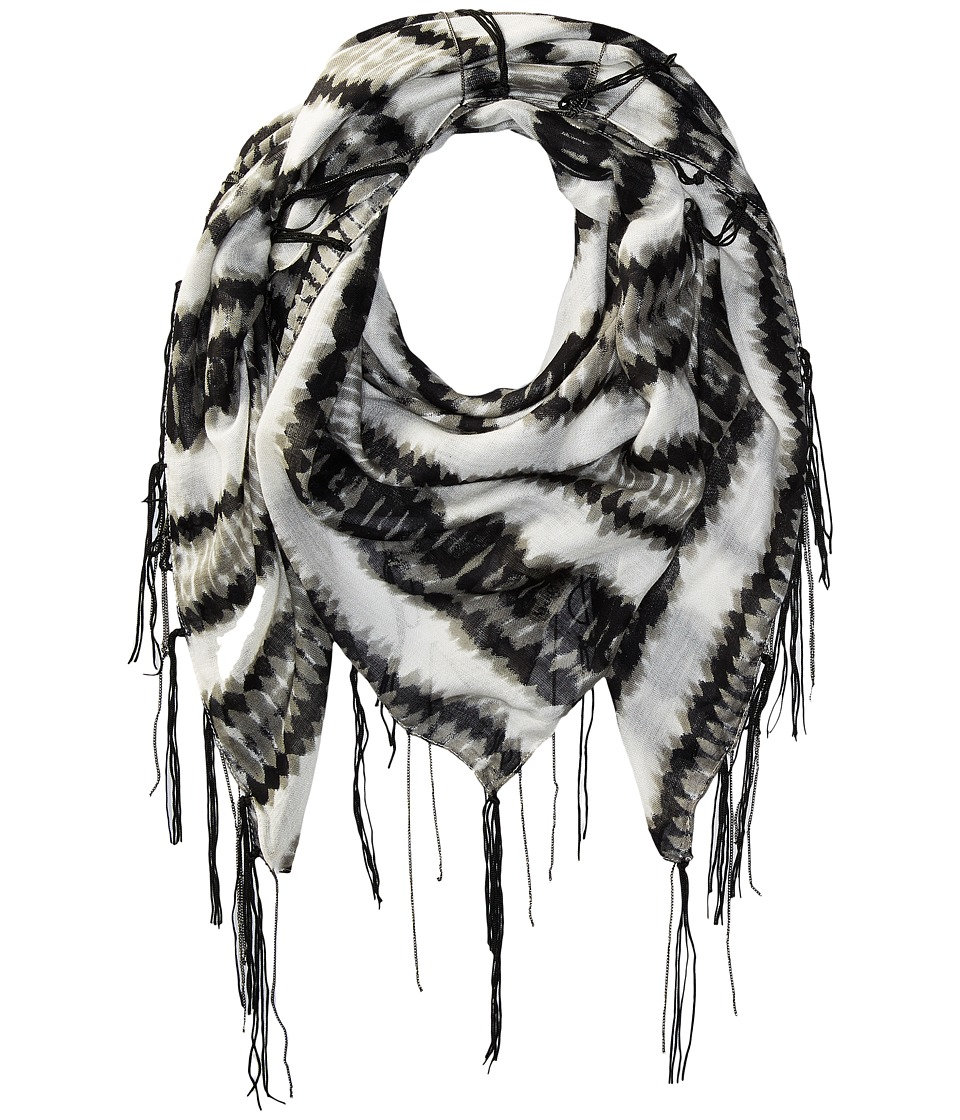 Michael Stars - Heavy Metal Square Scarf (Black) Scarves