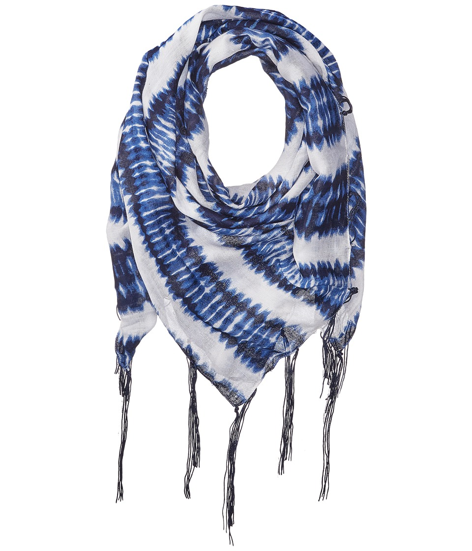 Michael Stars - Heavy Metal Square Scarf (Indigo) Scarves