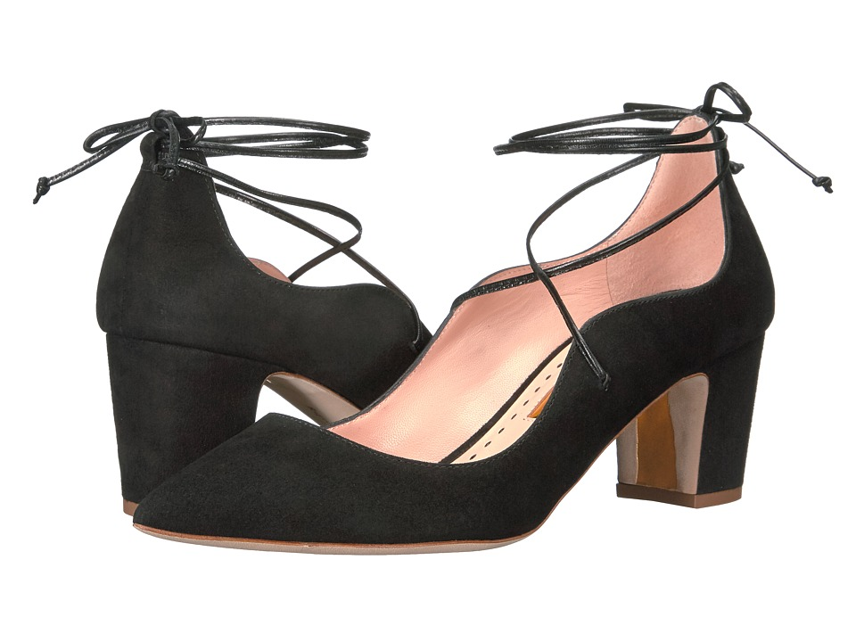 Rupert Sanderson - Poet (Black Suede) Women's Shoes