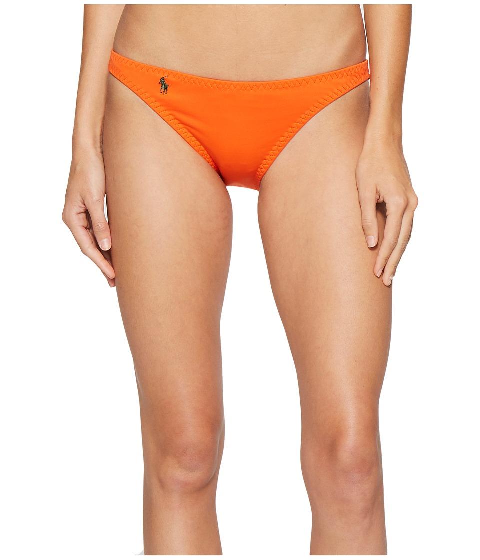Polo Ralph Lauren Military Cargo Katy Hipster Bottom (Desert Orange) Women