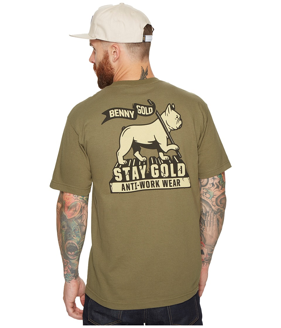 Benny Gold - Levi of Judah T-Shirt (Army Green) Men's T Shirt