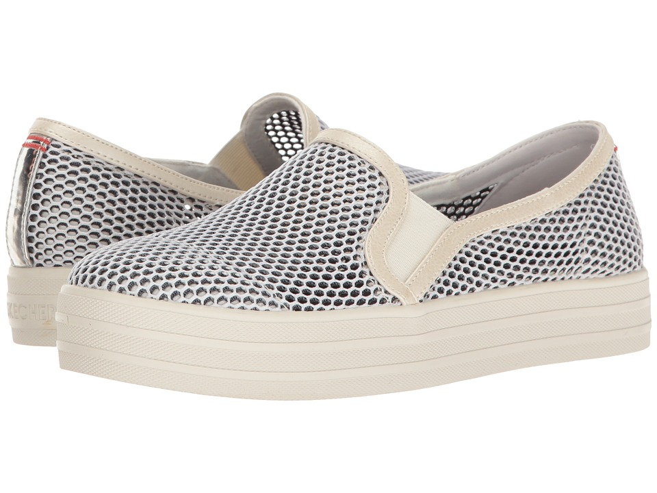 BOBS from SKECHERS - Double Up - Trawls (White) Women's Shoes