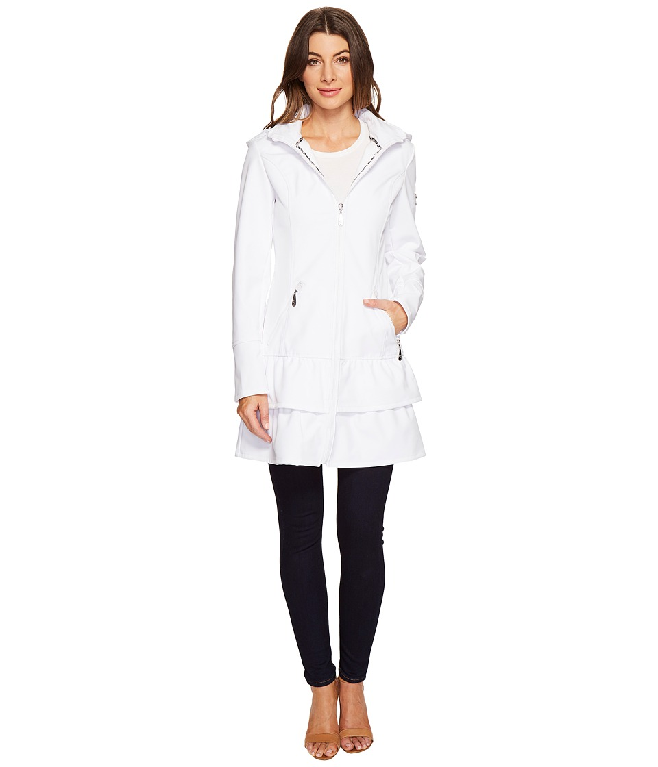 Betsey Johnson - Dorena Spring Jacket (Cloud) Women's Coat