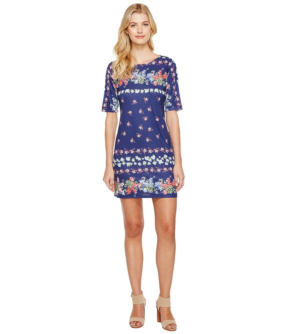 Nally & Millie Floral Print Dress (Multi) Women