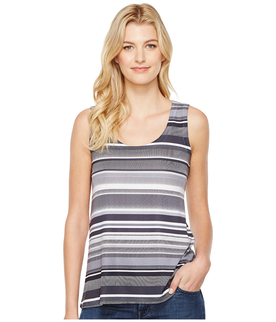 Nally & Millie - Striped Print Tank Top (Multi) Women's Sleeveless