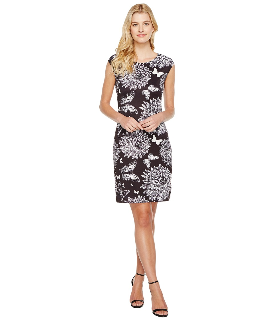 Nally & Millie - Floral Print Dress (Multi 1) Women's Dress