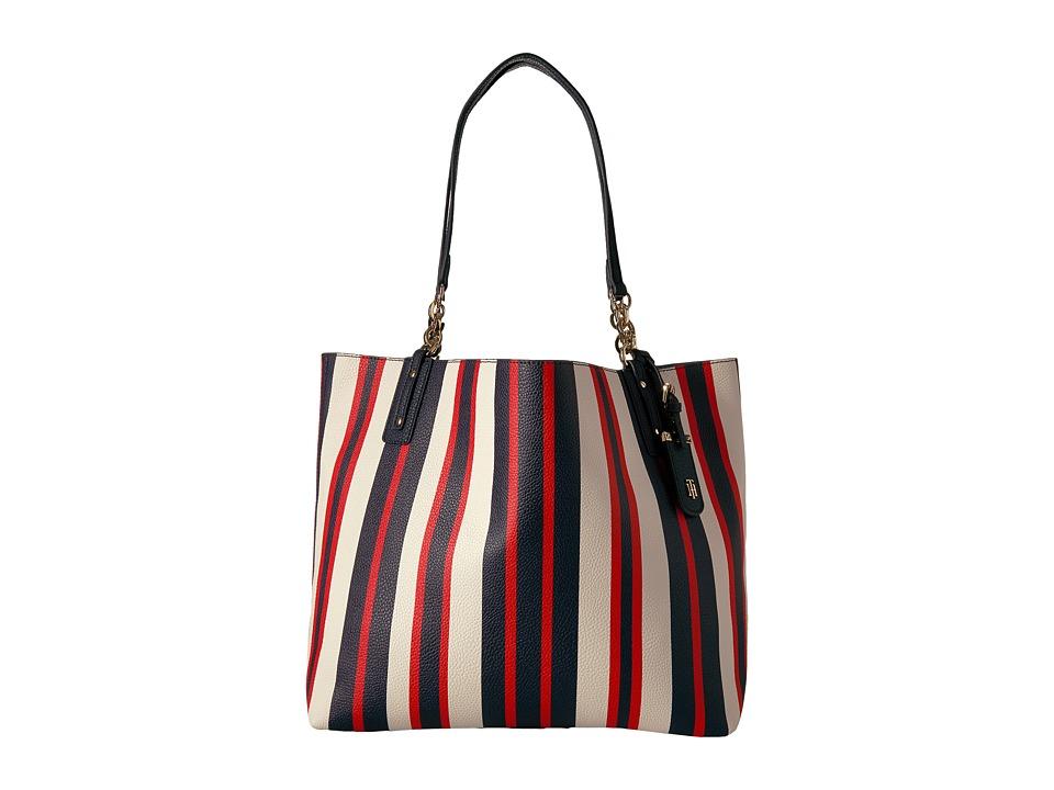 Tommy Hilfiger - Gabby Tote (Navy/Multi) Tote Handbags