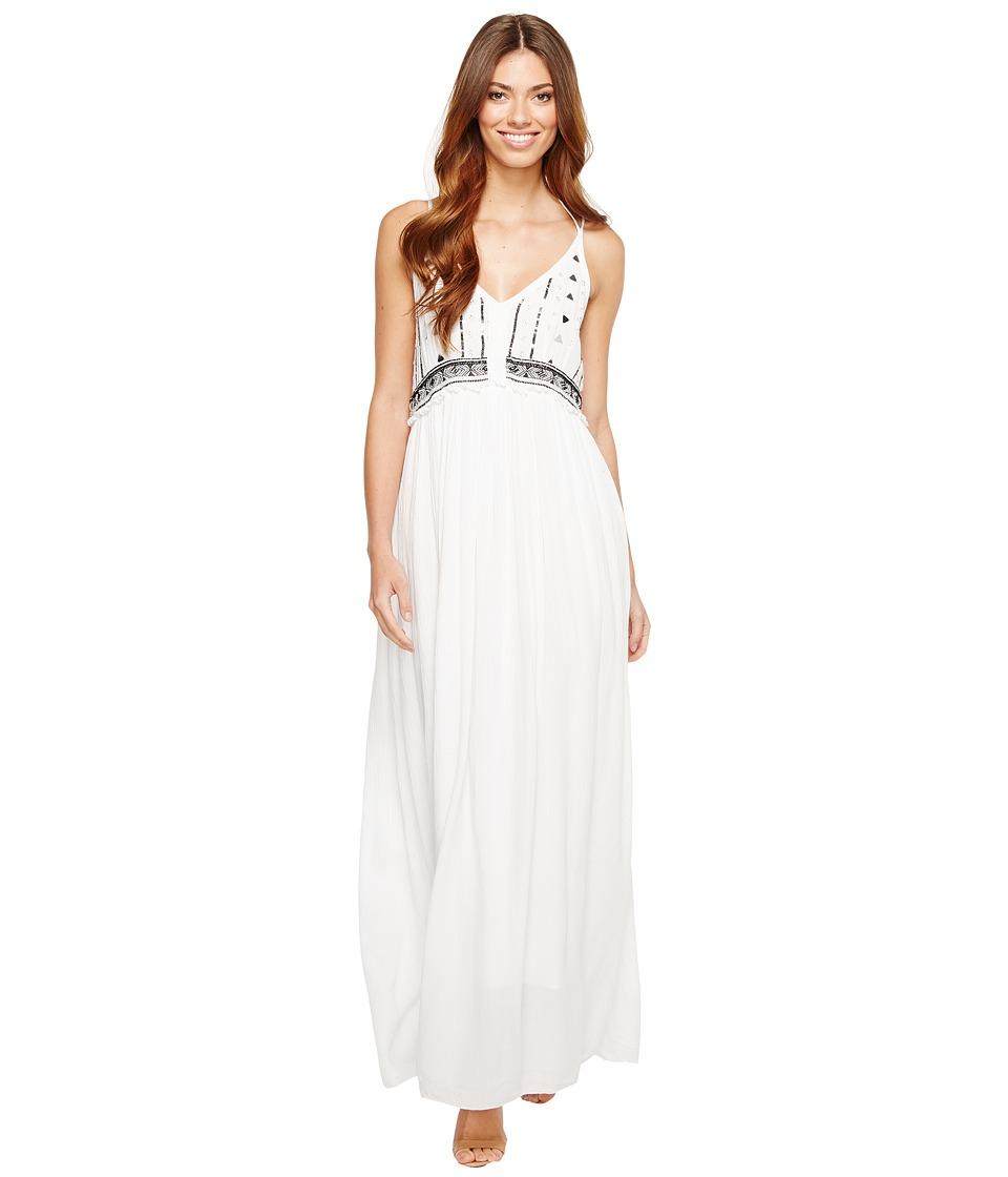 CATHERINE Catherine Malandrino - Leila Dress (Bright White/Black Beauty) Women's Clothing