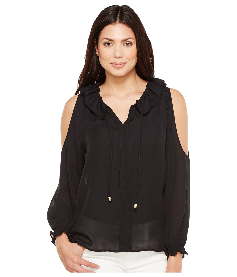 CATHERINE Catherine Malandrino - Sayer Blouse (Black Beauty) Women's Blouse