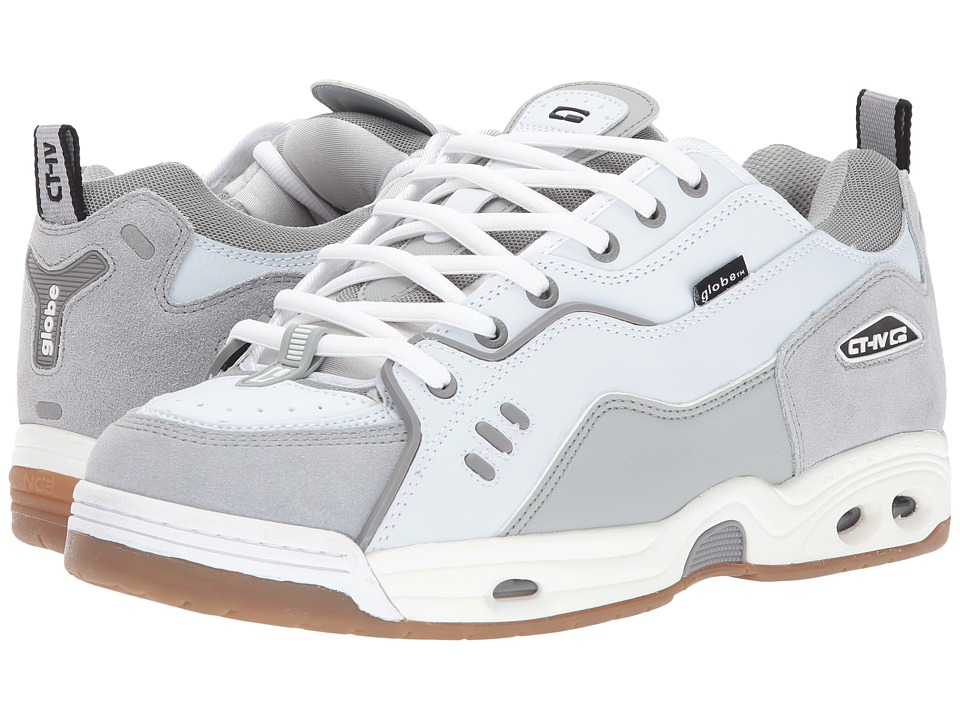 Globe - CT-IV Classic (White/Grey) Men's Skate Shoes