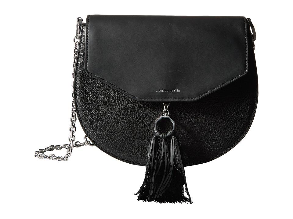 Louise et Cie - Jael Crossbody 2 (Nero) Cross Body Handbags