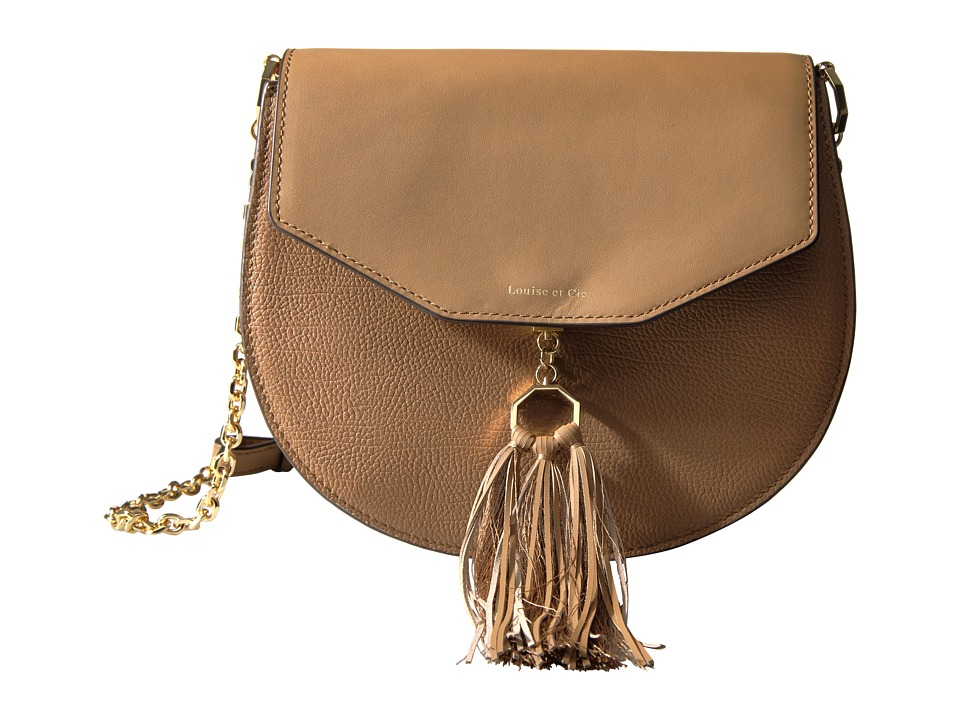 Louise et Cie - Jael Crossbody 2 (Camel) Cross Body Handbags